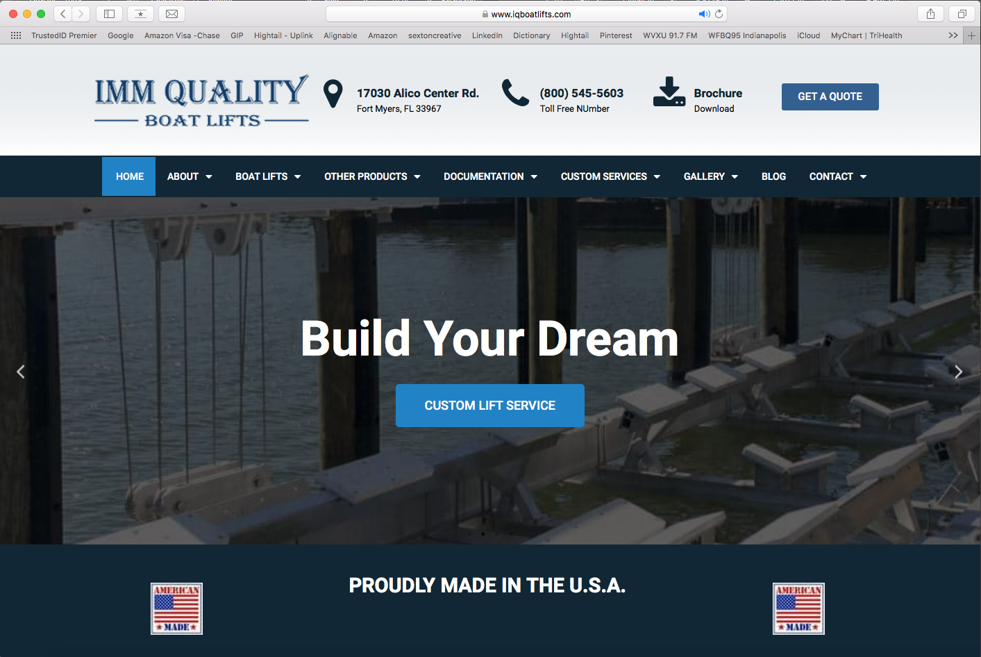 IQ Boat Lifts (new website design)